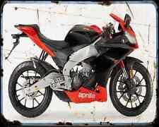 APRILIA Rs4 11 1 A4 Metal Sign moto antigua añejada De