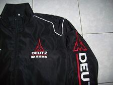 NEU DEUTZ D5505 Traktor Fan- Jacke schwarz jacket veste jas giacca jakka