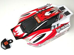 ELECTRIC 1/8 RC BUGGY HPI TROPHY FLUX BODYSHELL AND REAR WING NEW HPI 101806