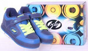 Heelys 770480K Thunder X2 Navy Strap Rolling Wheeled Skate Shoes Youth US 1