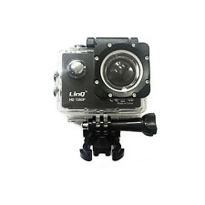 GoPro WiFi Full HD 1080p Action Camera 12MP LINQ Cam Sport Video Subacquea