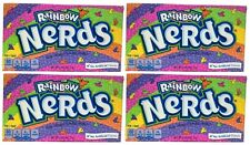 4x Rainbow Nerds Crunchy Candy Theater Box American Sweets Formally Wonka 141.7g