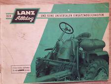 Originaler Illustrierter Leitfaden Lanz Alldog