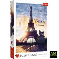 TREFL PREMIUM QUALITY PUZZLE - EIFELTURM - PARIS JE T`AIME  - 1000 TEILE NEU/OVP
