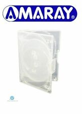 1 x 8 Way Clear Mini Megapack DVD 23mm [8 Discs] Empty Replacement Amaray Case