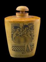 Bottiglia Bottiglietta Boccetta Arte Shunga Erotico Giapponese Curiosa 25361 E7