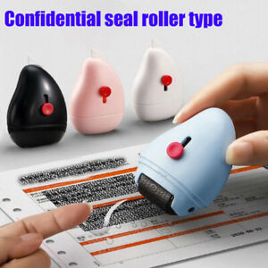 Roller Identity Theft Protection Stamp Privacy Confidential Data Guard Your ID
