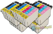 30 T0791-T0796 'Owl' Ink Cartridges Compatible Non-OEM with Epson Stylus P50