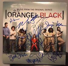 "Orange is the New Black signed 12"" lp regina spektor taylor schilling"