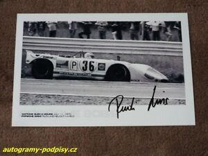 Rudi LINS - original AG, Porsche 908/2 (1970) Watkins Glen, Foto 10x15 cm