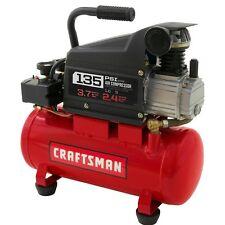 Portable Air Compressor 3 Gallon Oil 135 PSI Nail Gun Paint Sprayer Ratchet Tire