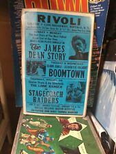 New listing 1956 James Dean Movie Film Theater Marquee Sign Poster Gravure original?