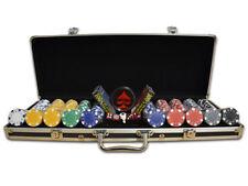 Maletín Poker Casino Dice 300 500 o 1000 Fichas Proffesional Poker Set
