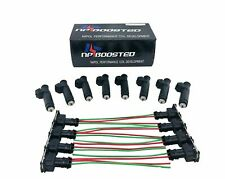 8 Pcs 60lb Fuel Injectors for Corvette Camaro LS1 LS6 Mustang GT 5.0L 630cc EV1