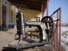 rare vintage Antique sewing machine unbranded spinx
