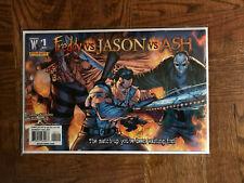 Freddy Vs. Jason Vs. Ash #1 (2008) NM Rare 2nd Print J. SCOTT CAMPBELL