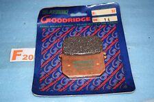 2 plaquettes de frein GOODRIDGE Kawasaki Z 400 550 650 750 1000 1100 KZ GPZ