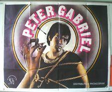 PETER GABRIEL - AFFICHE ORIGINALE -  TRES RARE – 1977