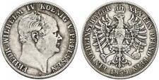 PREUSSEN - Friedrich Wilhelm IV. (1840 - 1861) Vereinstaler 1859 Silber [D-44]