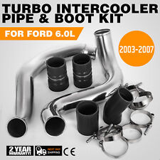 For Ford F-250/350/450 6.0L PowerStroke 03-07 Turbo Intercooler Pipe+Boot Kit