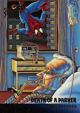 DEATH OF A PARKER / Spider-Man Fleer Ultra 1995 BASE Trading Card #98