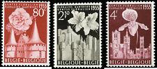 Belgium Scott #482-#484 Complete Set of 3 Mint Never Hinged