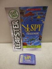 LEAP FROG LEAPSTER I SPY GAME CARTRIDGE & BOOK