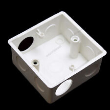 Wall Socket Back Box for Light Switch TV Phone Computer 86mm Squre Faceplate