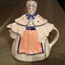 Granny, Grandmother, Pitcher, Tea pot USA, 8-1/2 in Tall- Vintage