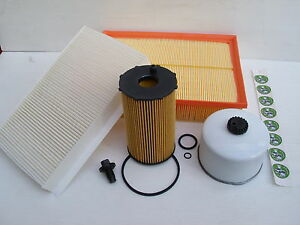 LAND ROVER DISCOVERY 4 TDV6 2.7 DIESEL SERVICE FILTER KIT - 2009 ON - NEW KIT
