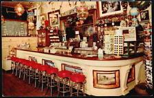 VIRGINIA CITY NV Bucket of Blood Saloon Vtg Bar Restaurant Postcard Floor Rack