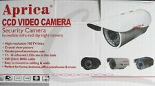APRICA 6003 Telecamera Infrared 36 LED PAL 600 TV Liee 3.6mm CCD Sony DC12