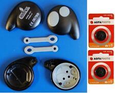 Cobra Coche Alarma 7777 Llavero casos de control remoto x2 y baterías nuevas x2