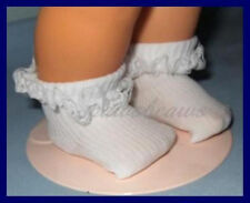 Lace Ruffle Trim SOCKS fit Baby Chatty Cathy CHATTY PATTY & Tiny Chatty Baby
