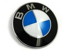 NEW Car Emblem Chrome Front Badge Logo 82mm 2 Pins For BMW Hood/Trunk