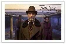 TIMOTHY DALTON PENNY DREADFUL SIGNED PHOTO PRINT AUTOGRAPH SEASON 1 2