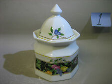 Christopher Stuart fine china lidded sugar bowl / tea jar