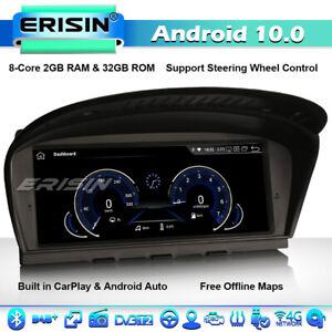 """8.8"""" CarPlay Android 10 GPS Stereo SatNav BMW 3er 5er E60 E61 E63 E64 E90 E91 4G"""