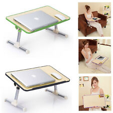 Portable Foldable Adjustable Laptop Desk Computer Table Stand Tray For Bed Sofa