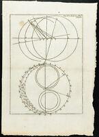 1777 - Gravure ancienne horlogerie - Académie Royale des Sciences