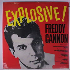 FREDDY CANNON: Explosive LP Sealed (Germany) Oldies