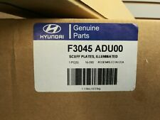 2015-18 OEM Hyundai Elantra Illuminated Sill Scuff Plates F3045ADU00 NEW IN BOX