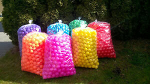 1000 BRAND NEW SOFT PLAY BALLS -BALL PIT, POOL , COMMERCIAL GRADE CE 8CM