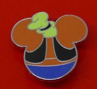 Used Disney Enamel Pin Badge Mickey Head Goofy Small Mystery Badge
