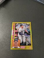 AARON JUDGE 2019 Topps Chrome Gold Refractor /50 1984 #84TC-1 New York Yankees