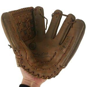 Mickey Lolich 3160 Pro Sport Double Duo Palm Steer Hide Duro-Flex Baseball Glove