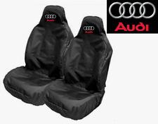 AUDI-Protector de Cubierta de asiento de coche par x2/Sline S1 S2 S3 S4 S5 S6 S7 Q3 Q5 Q7 TT