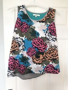 Next Floral Summer Floaty Top, Size 14