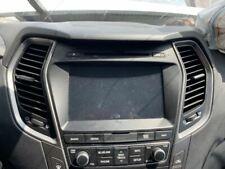 Audio Equipment Radio Canada Market CD Player SWB Fits 17-18 SANTA FE 366923
