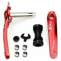 FOMTOR Bicycle Crank Arm Set 104 BCD Road Mountain Bike Crankset with Bottom
